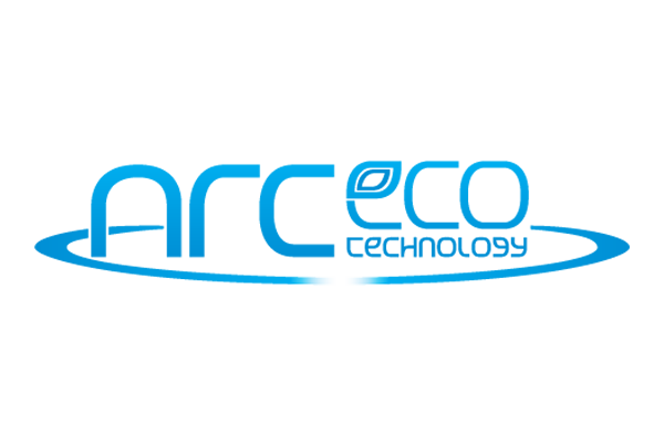 ArcEco all blue logo