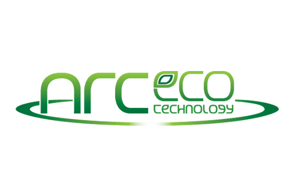 ArcEco logo all green logo